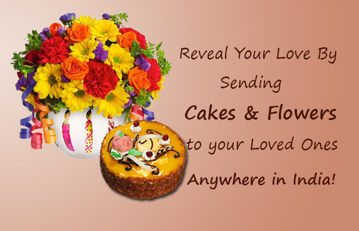 Send Cakes and Flowers Online