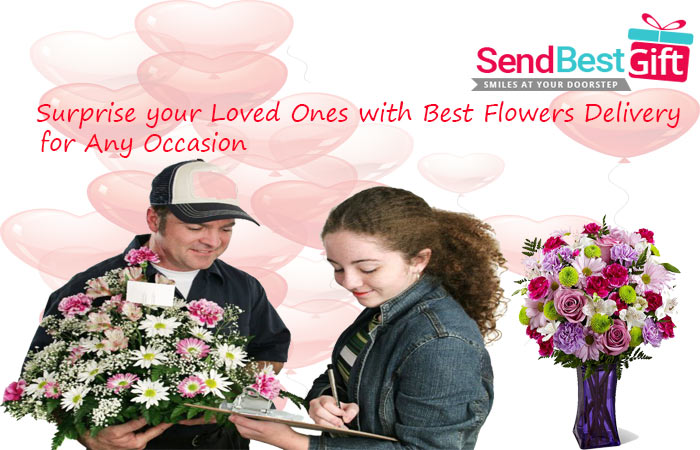 Surprise your Loved Ones with Best Flowers Delivery for Any Occasion