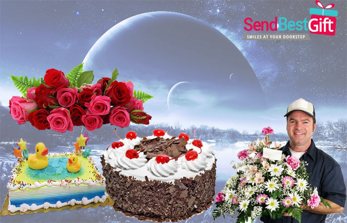 Midnight Cake & Flowers Delivery in Pune