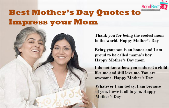 Best Mother S Day Quotes To Impress Your Mom Sendbestgift Com