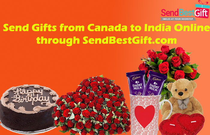 Send Gifts from Canada to India Online through SendBestGift.com