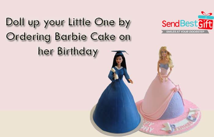 Barbie Cake for Birthday