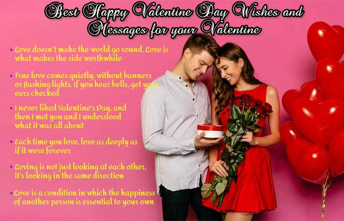 Valentine Day Wishes and Messages