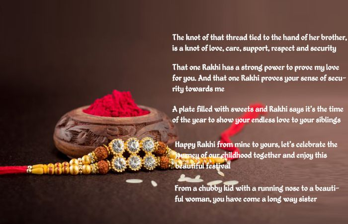 Best Rakhi Wishing Quotes for your Loving Brother