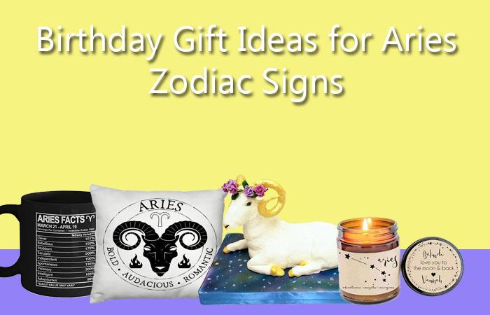 Birthday Gift Ideas for Aries Zodiac Sign