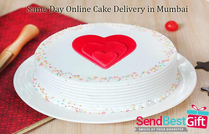 Same Day Online Cake Delivery in Mumbai
