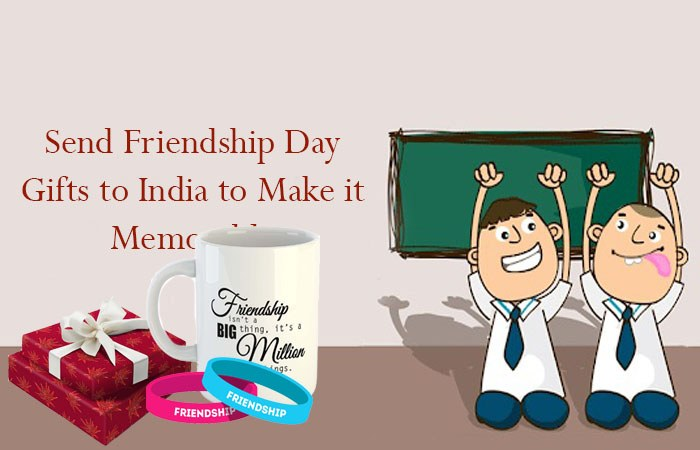 Send Friendship day gifts to India to make it memorable