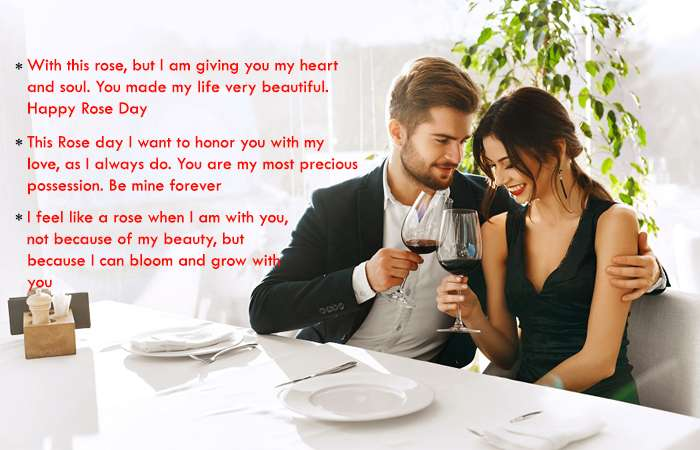 Top Most Romantic Rose Day Quotes for Husband Wife