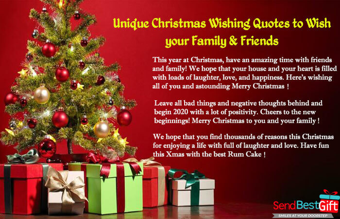 Unique Christmas Wishing Quotes