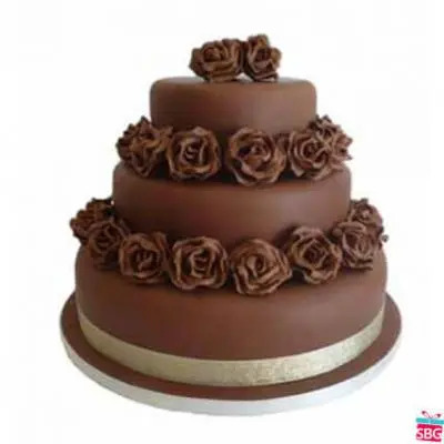 chocolate Cake 3 Tier
