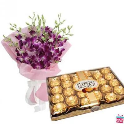 Orchids & Ferrero Rocher