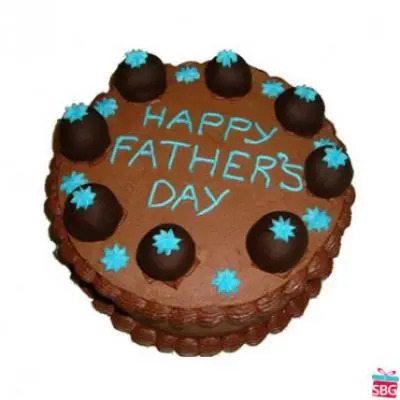 Chocolate Cake For Dad