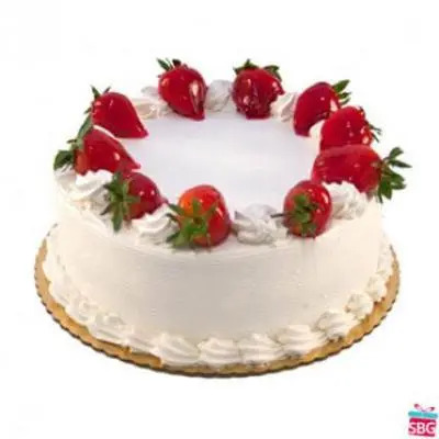 5 Star Strawberry Cake