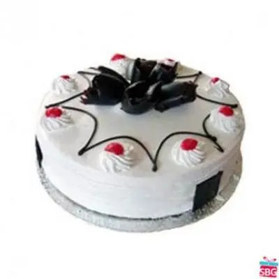 White Forest Cake From 5 Star