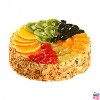 5 Star Fresh Fruit Cake