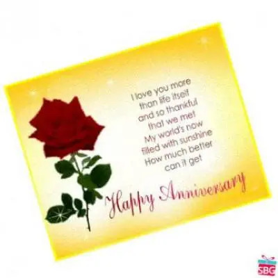Anniversary Greeting