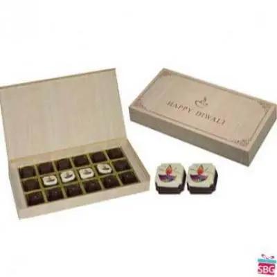 Diwali Gifts-10 Box, 18 Chocolate (Brown Box)