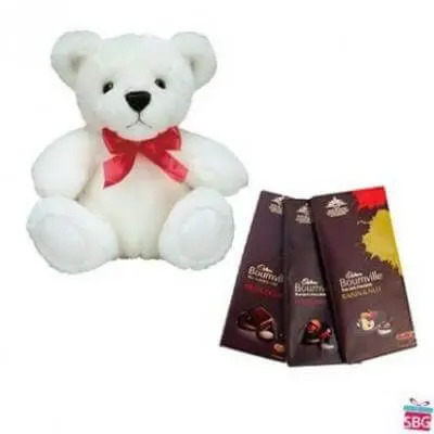 Teddy With Bournville