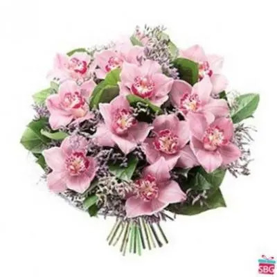 Pink Orchid Bouquet