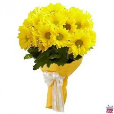 Yellow Gerbera Bouquet