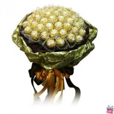 48 Pcs Ferrero Rocher Bouquet