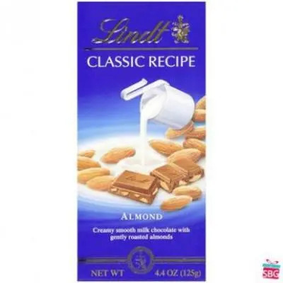 Lindt Swiss Classic Almond Chocolate