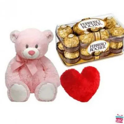 Teddy, Ferrero Rocher With Heart