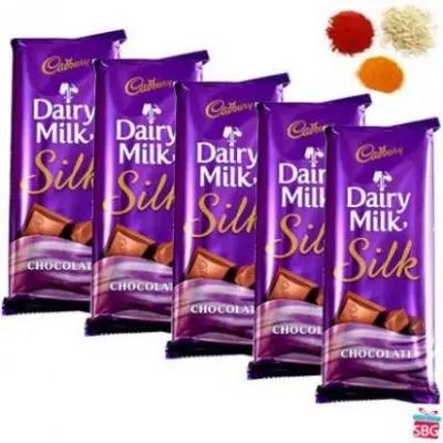 Dairy Milk Silk With Rolli Tikka