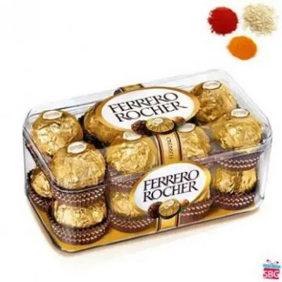 16 Pcs Ferrero Rocher With Rolli Tikka