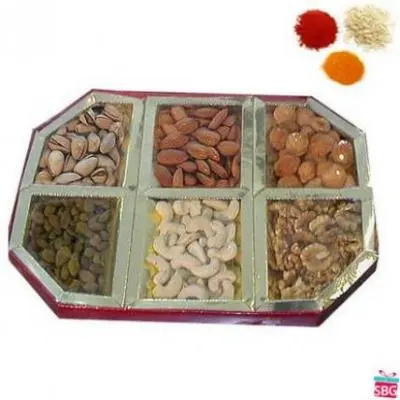Mix Dry Fruits With Rolli Tikka