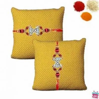 2 Diamond Rakhi