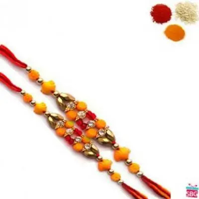 2 Fancy Rakhi