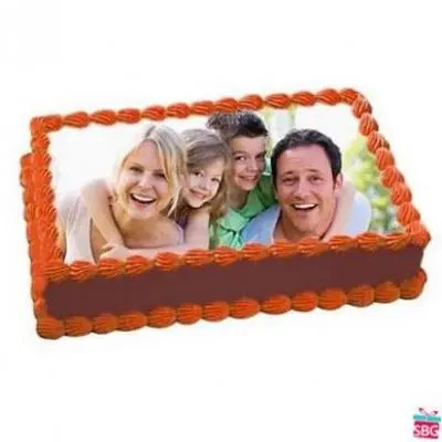 Eggless  Photo Cake