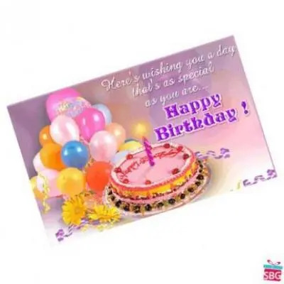 Send Birthday Card Online In India On Best Rates Same Day Delivery