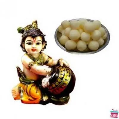 Makhan Chor With Rasgulla