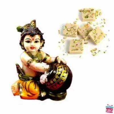 Makhan Chor With Mawa Burfi