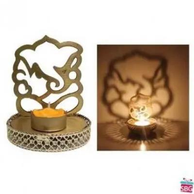Ganesh Shadow Diya