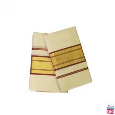 Traditional Mundu Set
