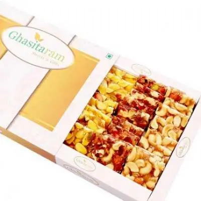 Assorted Chikki in White Box