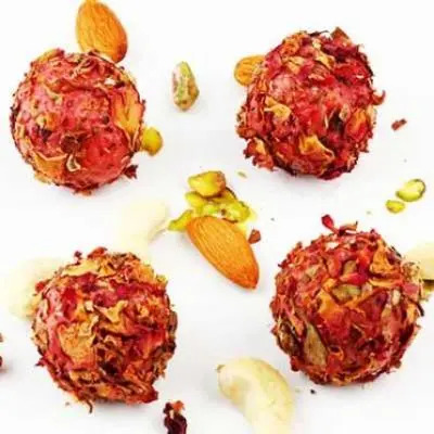 Sugarfree Rose Petal Strawberry Balls