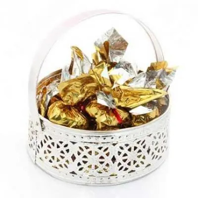 Silver Small Chocolate Basket