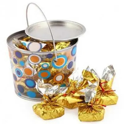 Bucket Of Sugarfree Chocolates