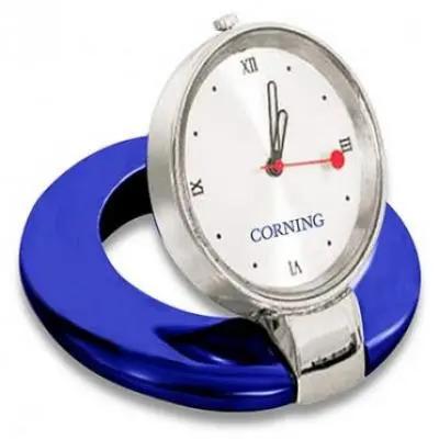 Blue Desktop Clock