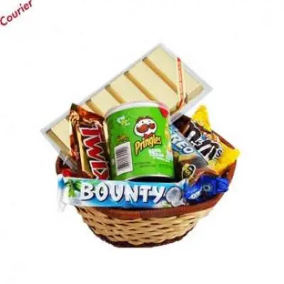 Chocolate Basket Hamper 1