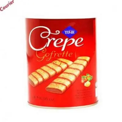 Crepe Hazelnut Wafers