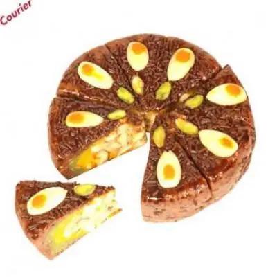 Chocolate Dryfruit Mithai Cake