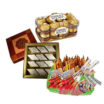 Crackers With Sweets & Chocolates