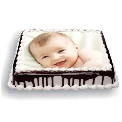 Photo Cake Black Forest