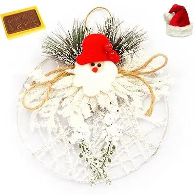 White Snow Santa