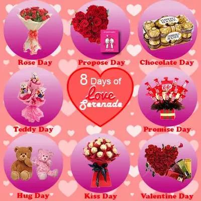 8 Days Of Love Serenade